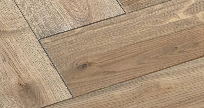 Luxury Parquet Grey Oiled Oak Solid Wood Flooring - Descriptive 5