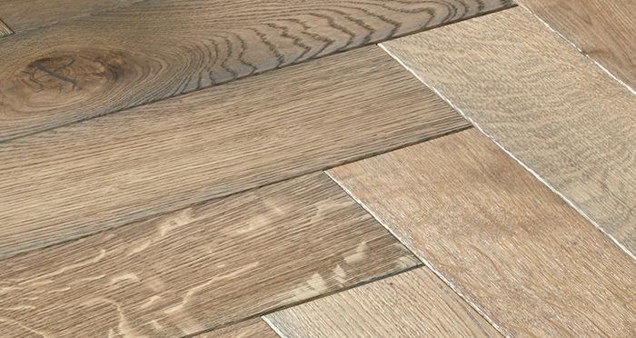 Luxury Parquet Grey Oiled Oak Solid Wood Flooring - Descriptive 6