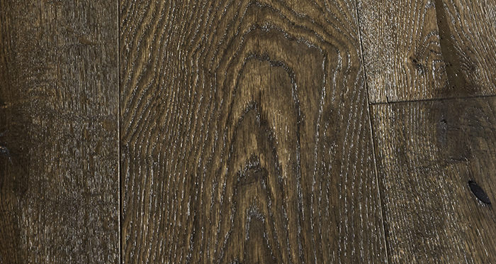 Smoked Old French Oak 240mm Lacquered Engineered Wood Flooring - Descriptive 3
