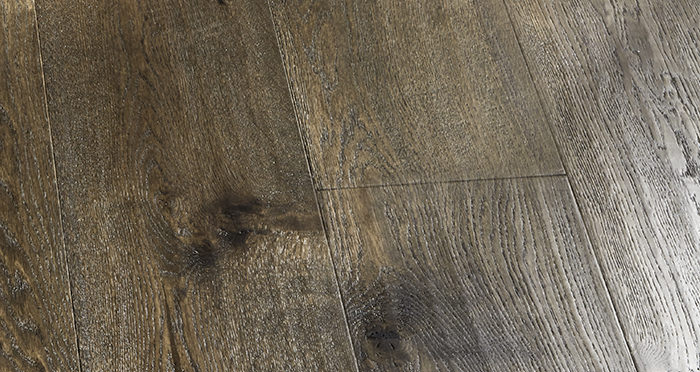 Smoked Old French Oak 240mm Lacquered Engineered Wood Flooring - Descriptive 6