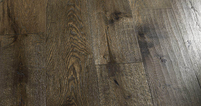 Smoked Old French Oak 240mm Lacquered Engineered Wood Flooring - Descriptive 7