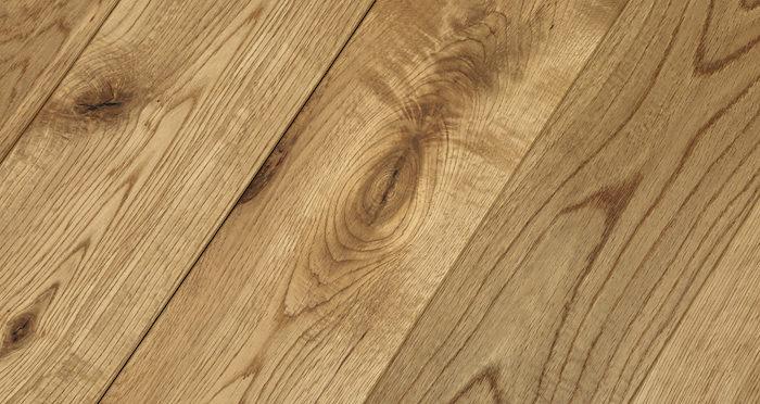 Natural Brushed & Oiled Oak Solid Wood Flooring - Descriptive 1
