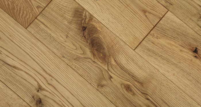 Natural Brushed & Oiled Oak Solid Wood Flooring - Descriptive 2