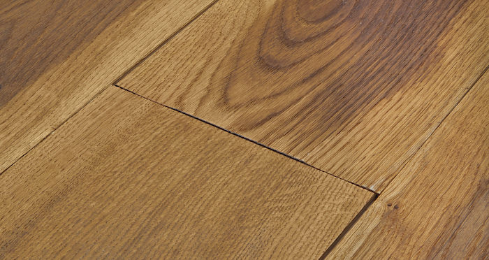Hand Stained Old French Oak Engineered Wood Flooring - Descriptive 2