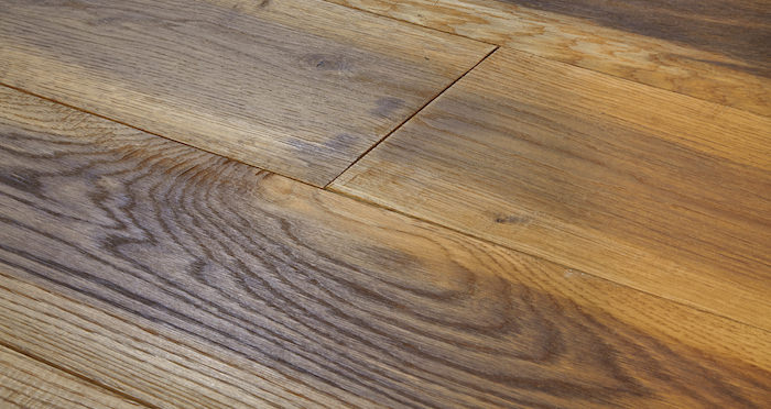 Hand Stained Old French Oak Engineered Wood Flooring - Descriptive 4