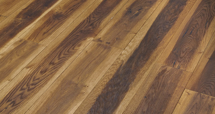 Hand Stained Old French Oak Engineered Wood Flooring - Descriptive 5