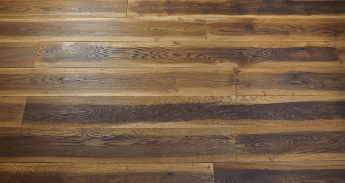 Hand Stained Old French Oak Engineered Wood Flooring - Descriptive 7
