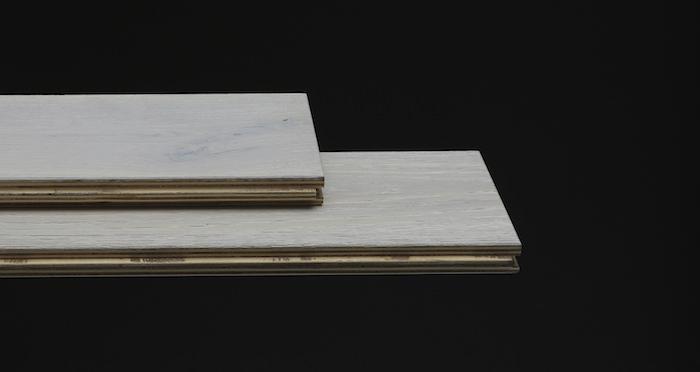 Frozen Oak Brushed & Lacquered Engineered Wood Flooring 125mm - Descriptive 1