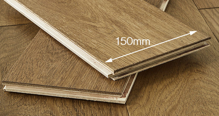 Loft Golden Smoked Oak Brushed & Lacquered Engineered Wood Flooring - Descriptive 4
