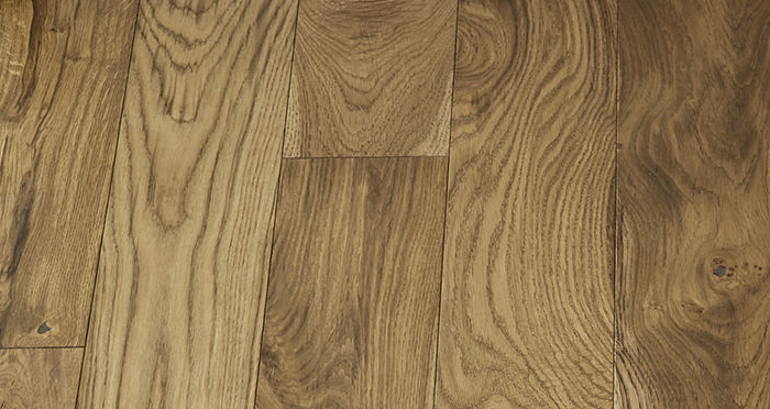 Loft Golden Smoked Oak Brushed & Lacquered Engineered Wood Flooring - Descriptive 5