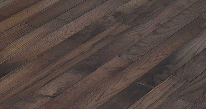 Classic Oak Espresso Brushed & Oiled Solid Wood Flooring - Descriptive 5