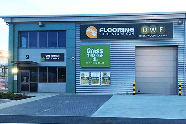 Direct Wood Flooring Thurrock Store - Exterior 1