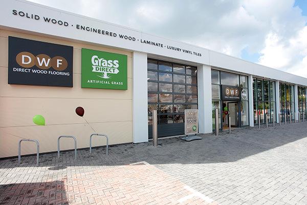 Direct Wood Flooring Havant Store - Exterior 1