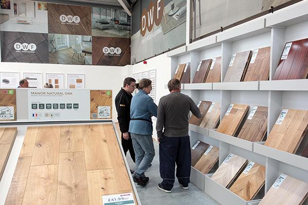 Direct Wood Flooring Havant Store - Stands 1