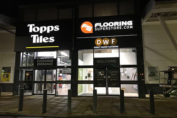 Direct Wood Flooring Newport Store - Exterior 1