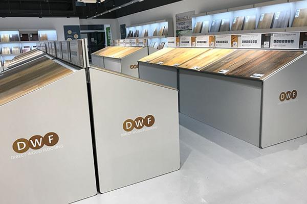 Direct Wood Flooring Newport Store - Stands 1