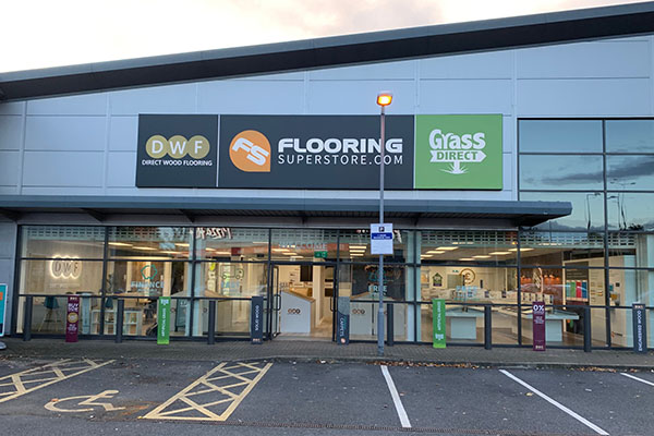 Direct Wood Flooring Stockport Store - Exterior 1