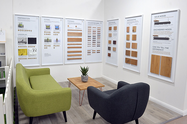 Direct Wood Flooring Stockport Store - Stands 1