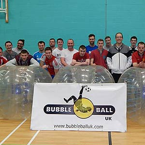 Charity Bubble Football