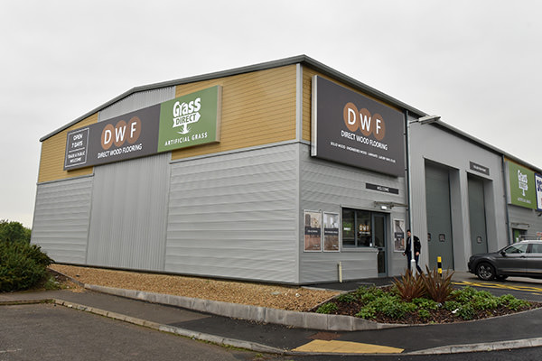 Direct Wood Flooring Coventry Store - Exterior 1