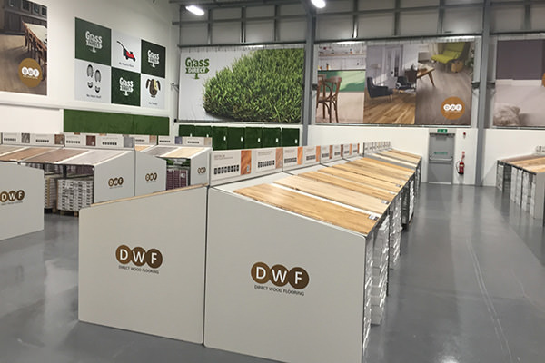 Direct Wood Flooring Birtley Store - Stands 1