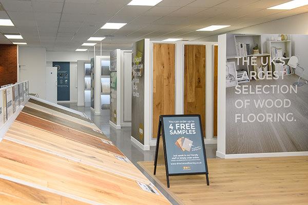 Direct Wood Flooring Edinburgh Store - Indoor 3