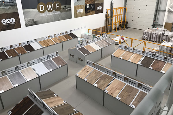 Direct Wood Flooring Thurrock Store - Stands 1