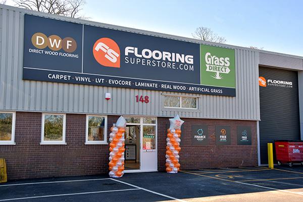 Direct Wood Flooring Basingstoke Store - Exterior 1