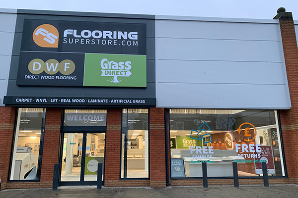 Direct Wood Flooring Crewe Store - Exterior 1