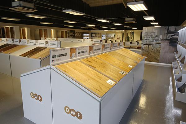 Direct Wood Flooring Crewe Store - Stands 1