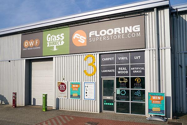 Direct Wood Flooring Croydon Store - Exterior 1