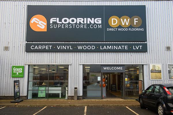Direct Wood Flooring Edinburgh Store - Exterior 1