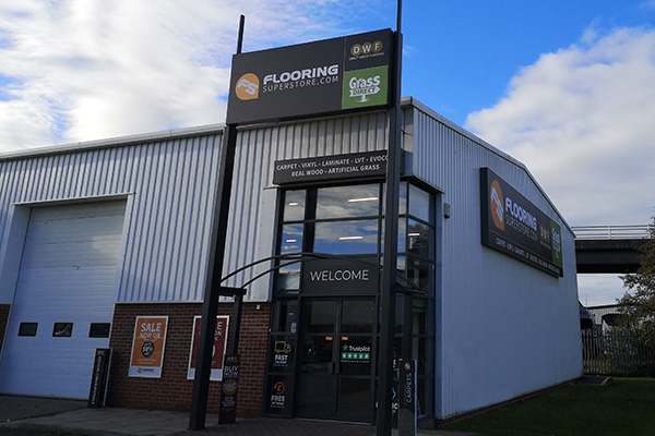 Direct Wood Flooring Newcastle Store - Exterior 1