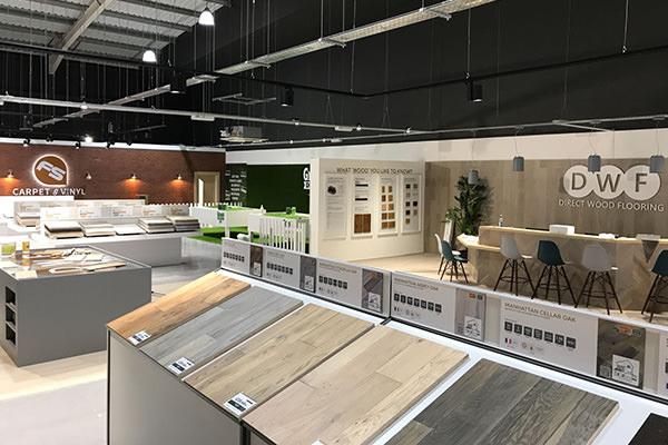 Direct Wood Flooring Newport Store - Indoor 1