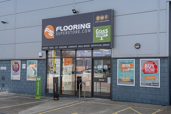 Direct Wood Flooring Norwich Store - Exterior 1