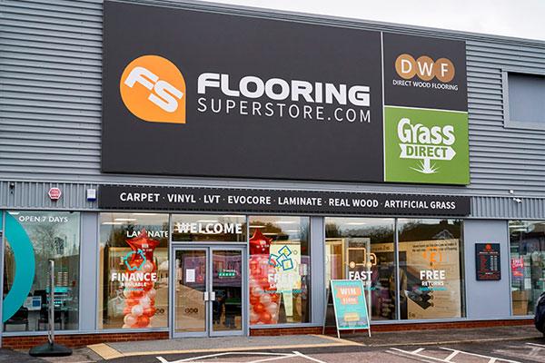 Direct Wood Flooring Romford Store - Exterior 1