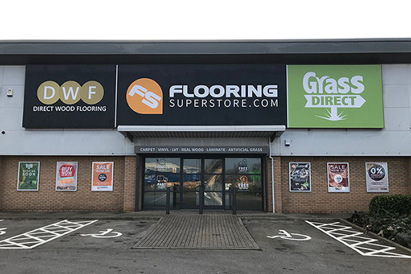 Direct Wood Flooring Stockton Store - Exterior 1