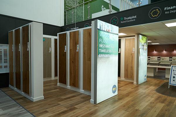 Direct Wood Flooring Swansea Store - Indoor 1