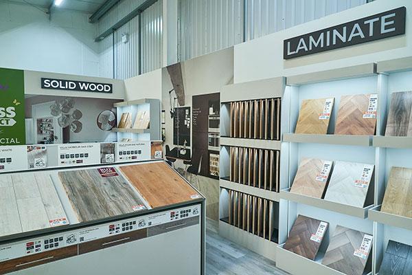 Direct Wood Flooring Swansea Store - Stands 1