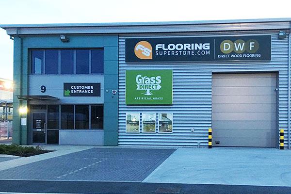 Direct Wood Flooring Thurrock Store - Exterior 1