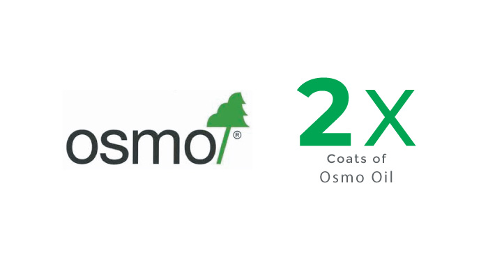Dual Coating of OSMO Oil