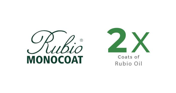 Dual Coating of Rubio Oil