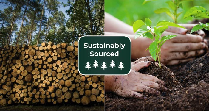 Sustainbly Sourced Wood