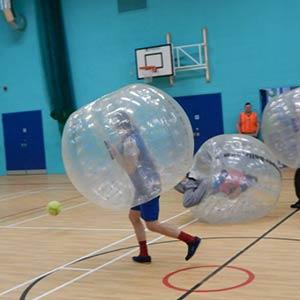 Charity Bubble Football