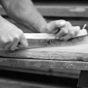 Wood Scraping